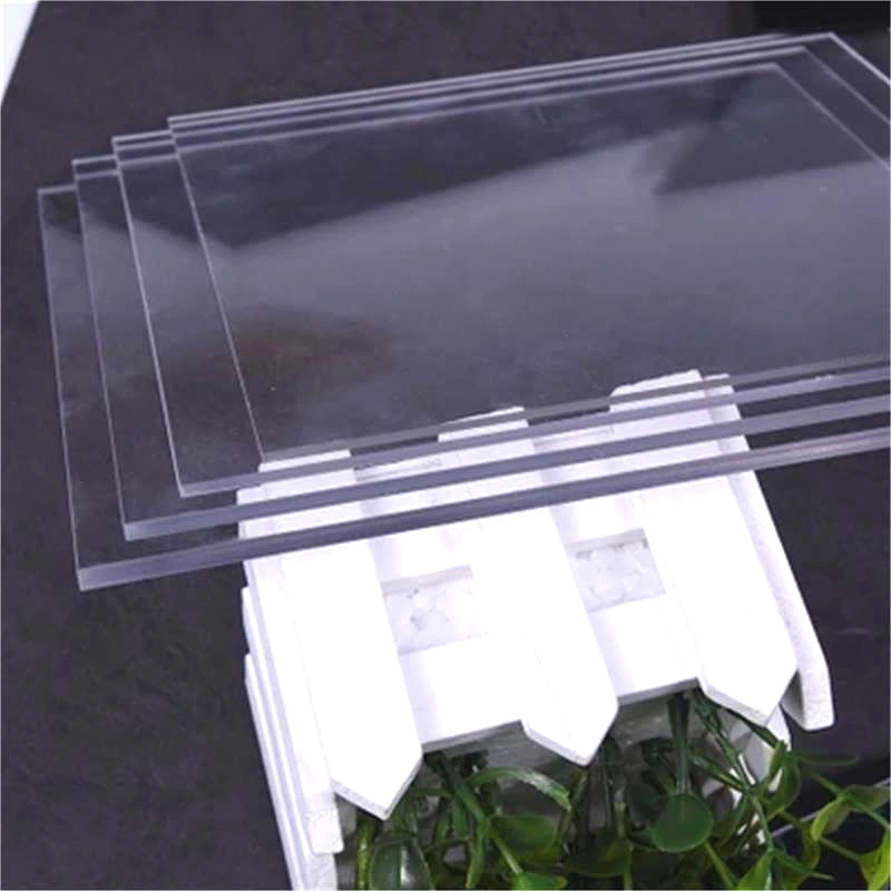 Plexiglass Transparent Clear plastic Sheet acrylic board organic glass polymethyl methacrylate 1mm 3mm 6mm thickness 300*200mm