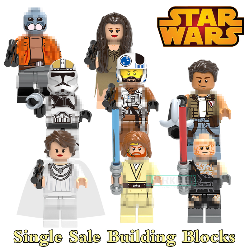 Building Blocks Princess Leia Ponda Baba Zander Super Heroes Star Wars Action Bricks Dolls Kids DIY Toys Hobbies X0144 Figures single building blocks kits ninja pythor kozu lloyd zane nya figures super heroes star wars model bricks kids toys hobbies x0143