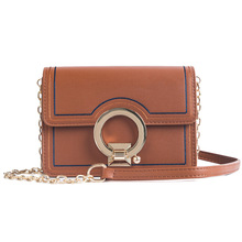 2019 New Spring And Summer Explosion Models Stitching Ladies Shoulder Diagonal Small Square Bag Fashion Chain Messenger