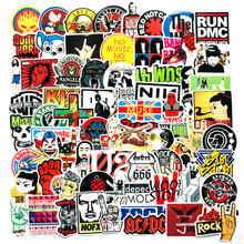 110 piezas de Rock Hip Hop Graffiti pegatinas Punk Banda de Música de la  Calle Arte etiqueta engomada del ordenador portátil del. 1dceeae2586