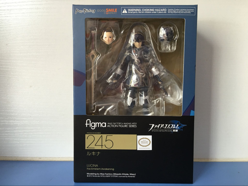 все цены на Fire Emblem: Awakening Figma 245 Luqina PVC Action Figure Collectible Model Toy онлайн