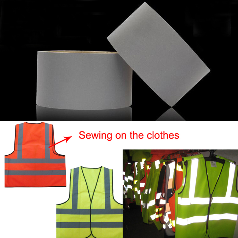 3M Gery Reflective Polyester Fabric For Clothing