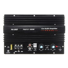 Promo 2017 NEW Arrival 12V 1000W Mono Car Audio Power Amplifier Powerful Bass Subwoofers Amp PA-80D