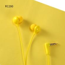 Оригинальный Remax WK 200 наушники Проводная гарнитура с шумоподавлением модные In Ear наушники для iPhone Xiaomi Мобильный телефон PS4