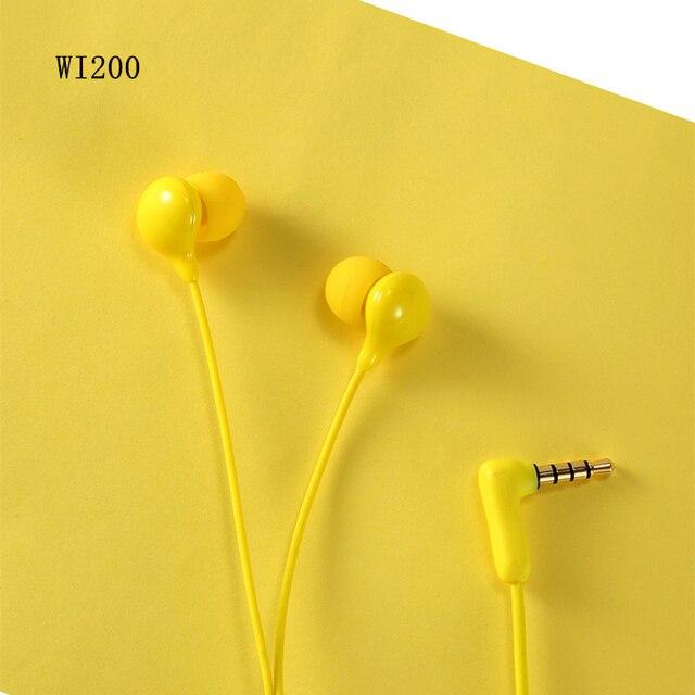 الأصلي ريماكس WK 200 سماعة السلكية سماعة إلغاء الضوضاء الموضة في الأذن سماعة آيفون شاومي الهاتف المحمول PS4