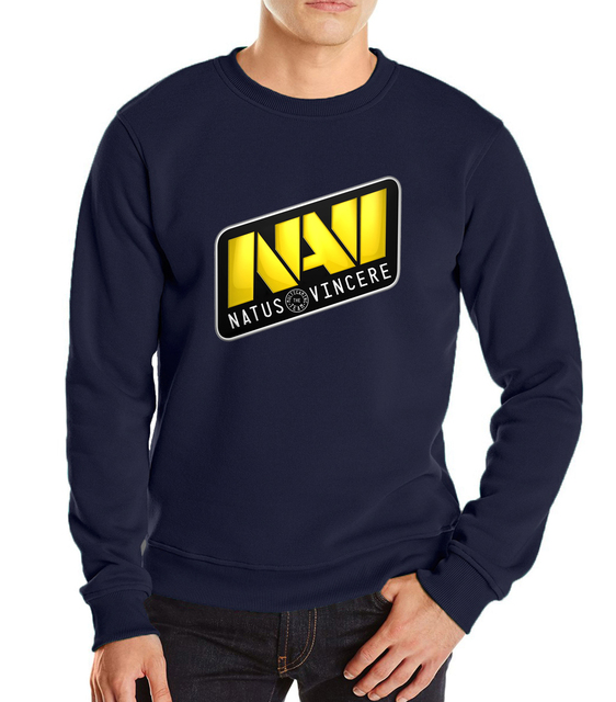 2017 new autumn winter dota 2 alienware harajuku men sweatshirt cool hoodies dota 2 natus vincere heroes funny hip hop navi dota