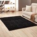 La alfombra de la Sala Europea suave alfombra de la habitación de los niños alfombra dormitorio Mat antideslizante suave Imitación Piel área alfombra rectángulo de negro rojo