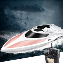 Simulation Remote Control Boat Speed Racing High Water Cooled LCD Screen Childrens Toys