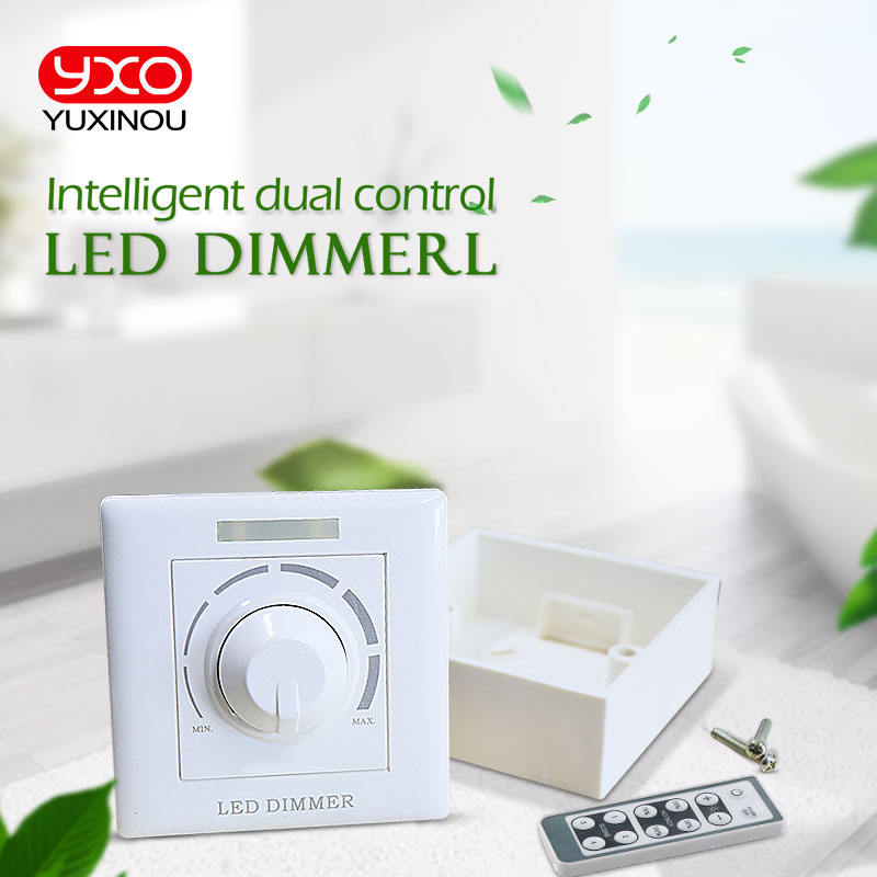 <font><b>AC</b></font> COB LED grow Chip <font><b>thyristor</b></font> dimmer 200W infrared remote dimmer <font><b>switch</b></font> trailing edge phase Driverless LED down light dimmer image