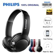 Casque découte Bluetooth Philips écouteurs sans fil SHB3075 Volume avec contrôle du Microphone pour Galaxy Note 8 XiaoMI Hua Wei