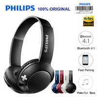 Philips Bluetooth Headset Kopfhörer Drahtlose Kopfhörer SHB3075 Volumen mit Mikrofon Control für Galaxy Note 8 XiaoMI Hua Wei