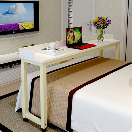 Computer Desks office home bed Furniture panel steel movable laptop desk  2017 good price functional new hot 220 40cm whole sale in Computer Desks  from. Computer Desks office home bed Furniture panel steel movable