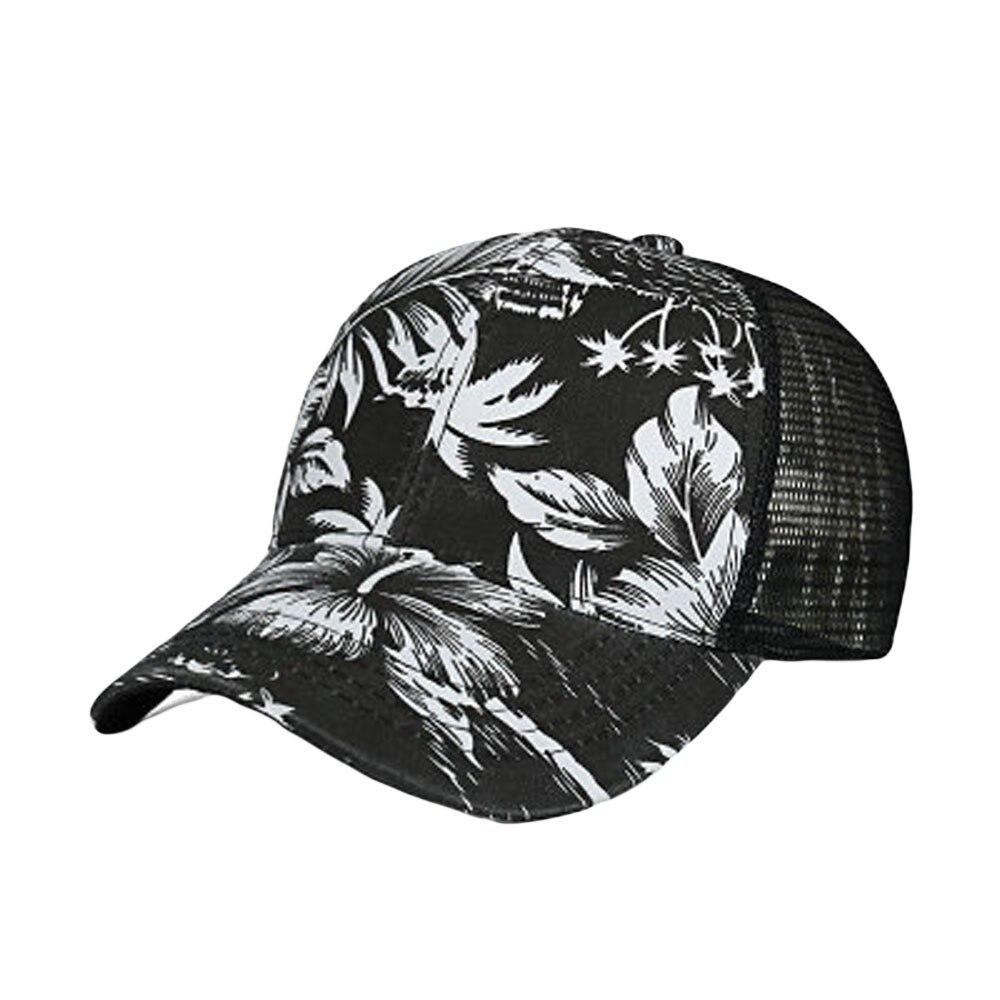 74bff6f463b Branded Fashion Baseball Hat Women Men Colorful Flower print ...