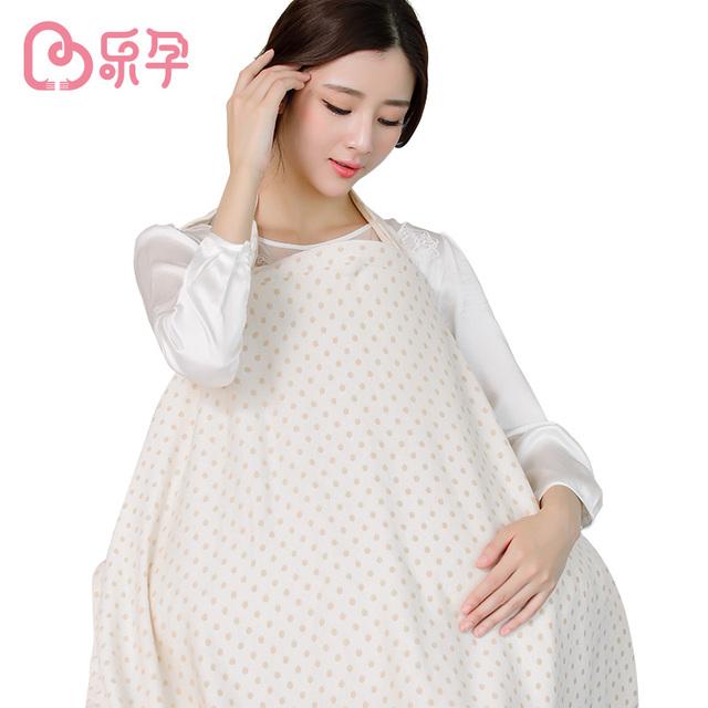 Leyun paño de enfermería De Enfermería La Lactancia Del Bebé de Muselina de Algodón Bebé Transpirable Cubierta de la cubierta de alimentación