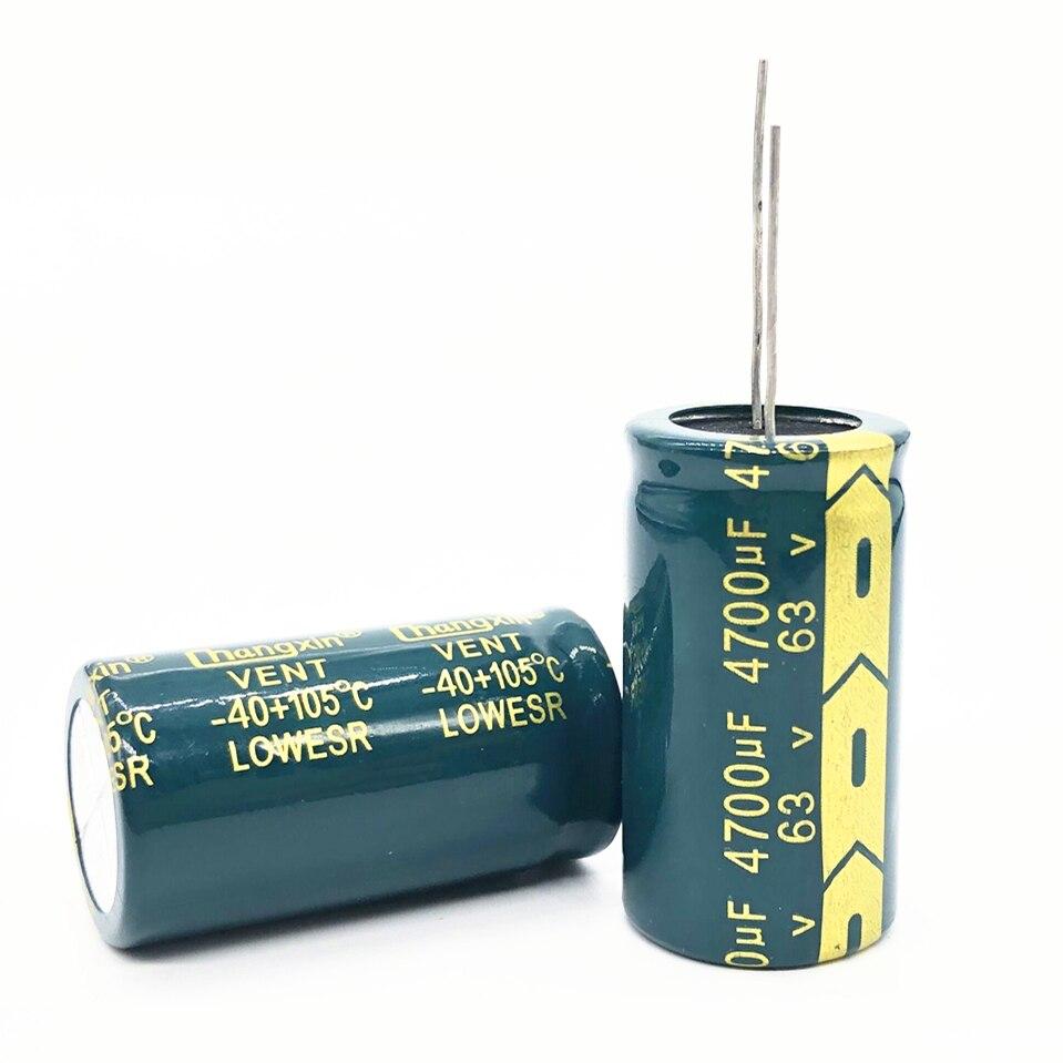 5pcs~20pcs 63V 4700UF 22*40 Aluminum Electrolytic Capacitor 4700uf 63V 634700uf