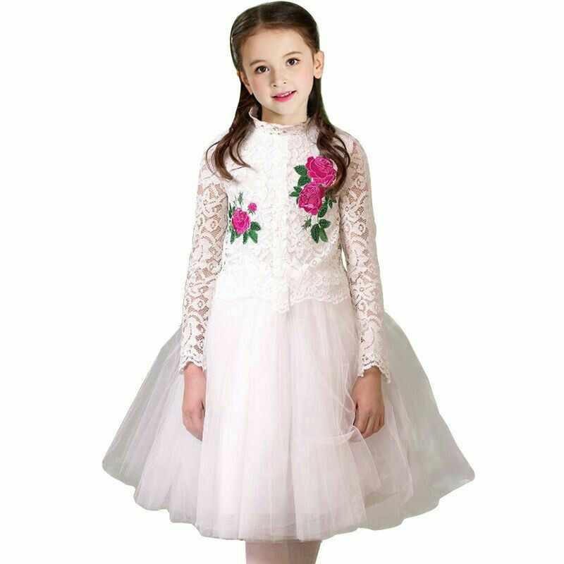 60f2b7e3990 Подробнее Обратная связь Вопросы о Свадебное платье для девочек с ...