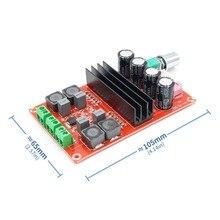 Высокая мощность Цифровые усилители доска TDA3116D2 два канальный аудиоусилитель доска 12-24 В 100Wx2