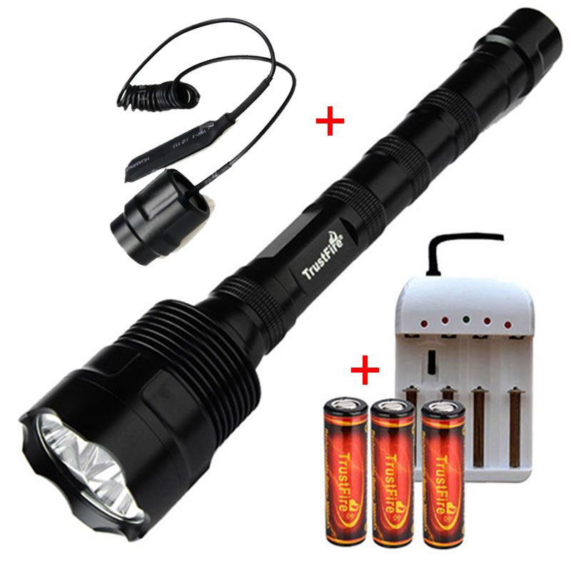 TrustFire 3L2 Flashlight 3800 Lumens Tactical Flashlight Fishing Torches 3* XM-L2 3LED Spotlight Torch Camping HeadlightsTrustFire 3L2 Flashlight 3800 Lumens Tactical Flashlight Fishing Torches 3* XM-L2 3LED Spotlight Torch Camping Headlights