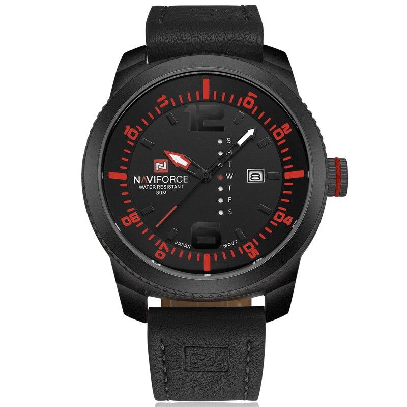 Prix pour NAVIFORCE Montres Hommes Quartz Mens Sport Watch Top Marque De Luxe Date Semaine Horloge Hommes Montres Militaires Hommes Sport Montre montres