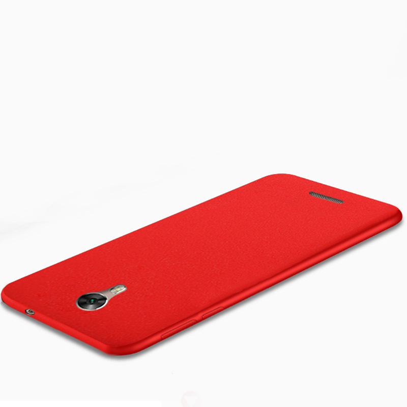 Matte TPU Back Skin Shell Cover For Qmobile