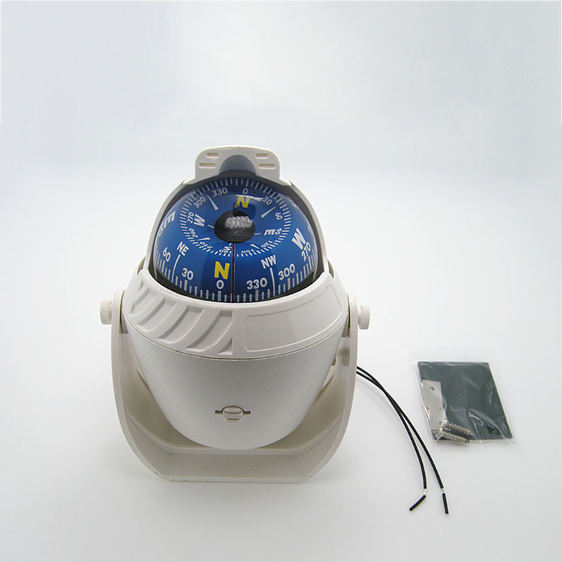 Boat Parts & Accessories Led Night Light Sailing Marine Compass For 12v Marine Boat Yacht Ship Limpid In Sight Marine Hardware