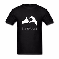 2018 Summer T Shirts 2018 Cool Men Funny Design T Shirt Novelty Tops Inter Meme Friendzone