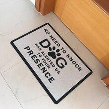 Резиновый коврик ковер в холл не нужно выбить у собаки предупреждены, свяжитесь с нами для того, чтобы ваше присутствие Забавный дверной коврик для дома и улицы дверной коврик