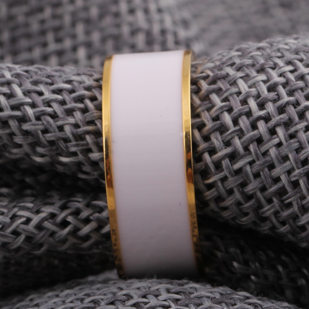 Heißer verkauf aliexpress vergoldung edelstahl ring abdeckung - Modeschmuck - Foto 5
