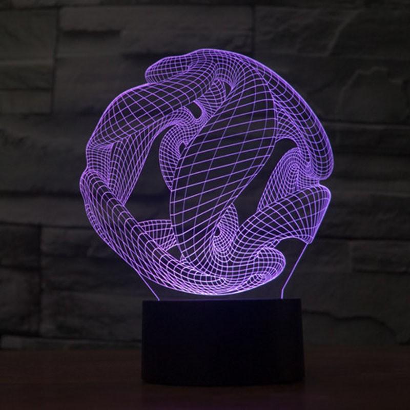 purple night light