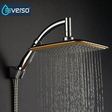 Everso 8 «Ванная комната ручной Насадки для душа стороны провести Насадки для душа Топ над головой вращаться на 360 градусов осадков Насадки для душа комплект