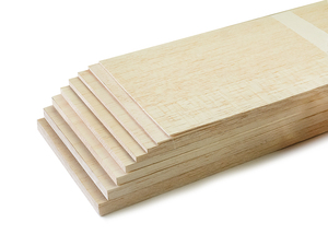 Image 4 - AAA+ Balsa Wood Sheet ply 500mm long 100mm wide 1/1.5/2/3/4/5/6/8/10mm thick for airplane/boat model DIY