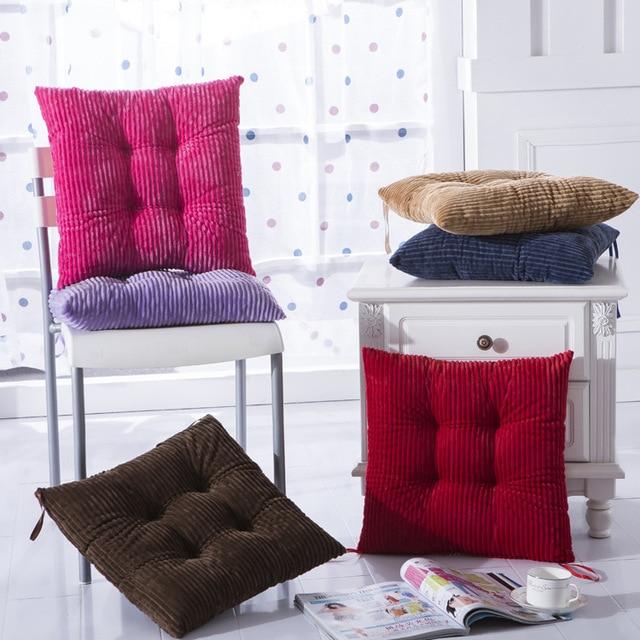 Us 16 7 The New Corn Velvet Cushion Chair Cushion Floor Cushion Is Out Of Shape Not Easily Upset Full Warm And Soft Di Bantal Dari Rumah Taman