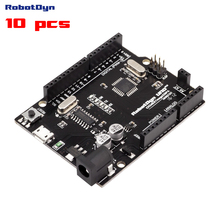 10 stücke KOSTENLOSER VERSAND mit tracking-Neue 2016-UNO R3 ATmega328P, + A6-A7 pins, MicroUSB. kompatibel für Arduino UNO Rev 3.