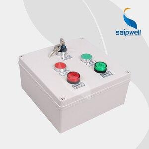 200*200*95 мм кнопочный переключатель коробка с сигнальным светом/кнопка управления станция переключатель коробка/Водонепроницаемая коробка (...