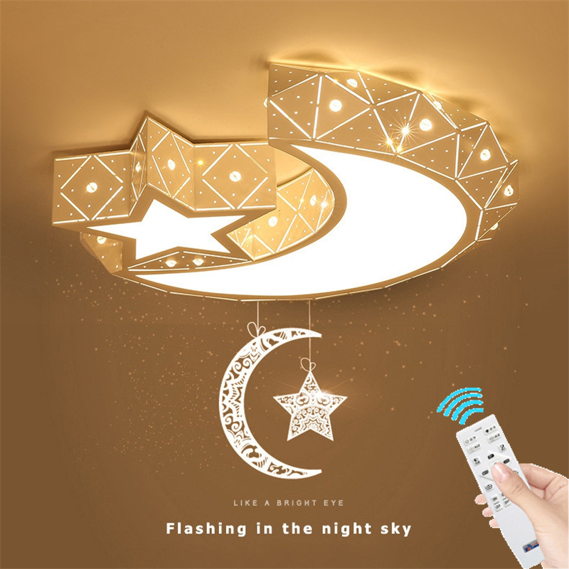 Modern Acrylic Star sky Led Ceiling Lights Creative Star moon Style Ceiling lamp For living Room Bedroom Childrens room Modern Acrylic Star sky Led Ceiling Lights Creative Star moon Style Ceiling lamp For living Room Bedroom Childrens room