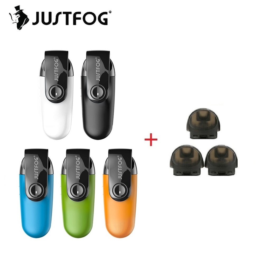 Новое поступление оригинальный Justfog C601 комплект со встроенным 650 мАч Батарея и 1,6 мл картридж Нижняя заправка Pod Комплект Vs JUSTFOG MINIFIT