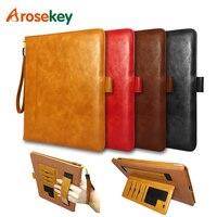 Arosekey For Apple IPad 2 3 4 Case 9 7 Inch Soft PU Leather IPad Cover