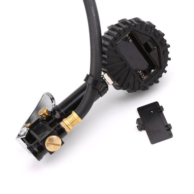 Car Digital LCD Display Tire Pressure Gauge Meter Manometer Air Inflator Tool For Air Compressor For Charging Car Truck SUV in Tire Pressure Alarm from Automobiles Motorcycles