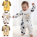 1pc baby kids boy girl cartoon sheep print 2017 Costume long sleeves infants one-piece clothing set