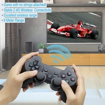 Для PS3 Android tv Box PC 2,4 ГГц беспроводной джойстик игровой контроллер GPD XD с OTG конвертером компьютерный джойстик Джойстик >> videojuegos Store