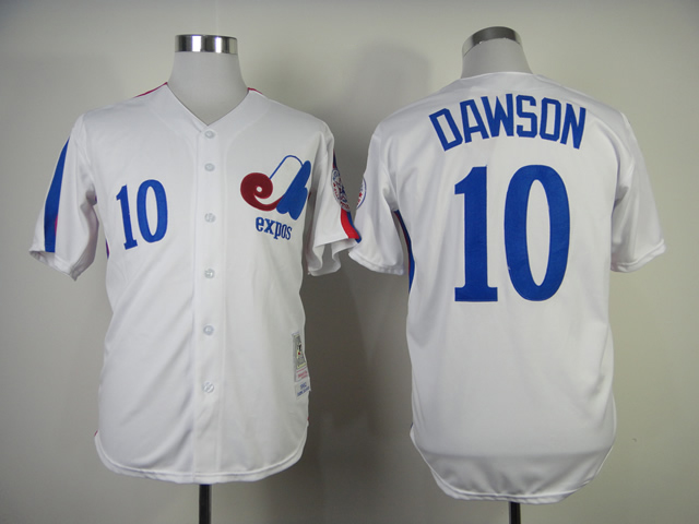 Andre Dawson Jersey 10 Montreal Expos Baseball Jersey All stitched Retro Style More Color baseball jersey 52 petricka petricka jake petricka jersey
