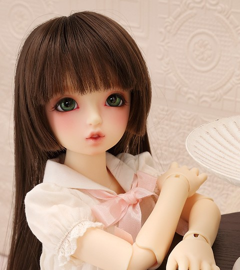 Luodoll bjd doll SD doll baby girl with sdm 1/4 volks mako body toy doll doll free shipping (free eyes + free make up) luodoll bjd sd doll lust 1 4 teach c female baby joint doll full birthday gift free eyes free make up