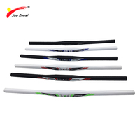 Aluminum Alloy 31.8mm MTB Mountain Bike Handle One shaped Blue Green Red Black Bicycle Handlebar Cycling Parts Accessories