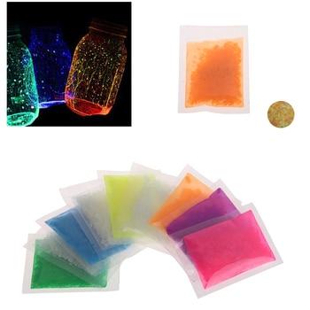 9 Colors Fish Tank Sand Night Luminous Dark Bright Glow Decoration