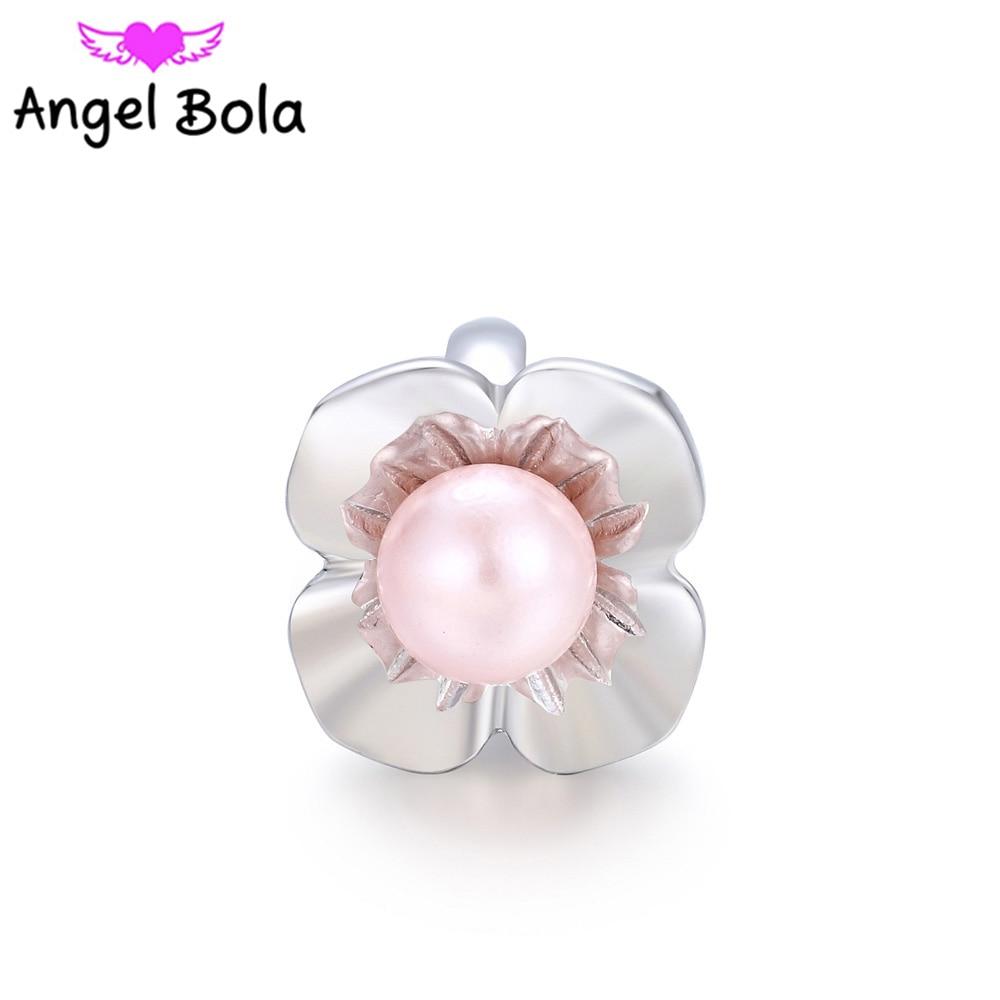 Pearl Slide Beads Endless Charm DIY Interchangeable Charms fits Endless Bracelets Bangle Jewelry Making EC-049