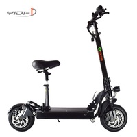 Upgrade two rounds trottinette electrique adulte Urban SUV kick scooter electric Explosion proof vacuum tire waterproof