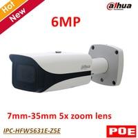 English Version Dahua 6MP IP Camera IPC HFW5631E Z5E 6MP Poe IR Bullet Network Survillance Camera