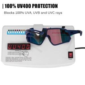 Image 2 - ROCKBROS 사이클링 편광 된 스포츠 안경 자전거 100% UV400 충격 저항 렌즈 선글라스 남자 여자 등반 Glasse 실행