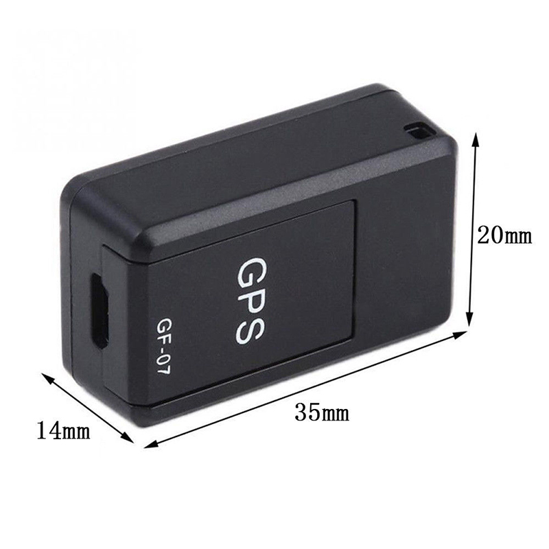 Mini GF-07 GPS Tracker Car Long Standby Magnetic Tracking Device For Car/Person Location Tracker GPS Locator System