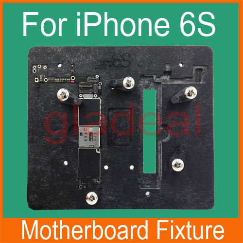High Temperature Resistant Motherboard PCB Fixture Holder For iPhone 6S 4.7 IC Maintenance Repair Mold Tool Platform high temperature resistant pcb motherboard test fixture jig holder maintenance repair platform for iphone 8 8p 7 7p 6 6s 5 5s